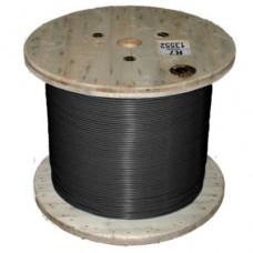 Кабель нагревательный одножильный отрезной TXLP BLACK (DRUM)