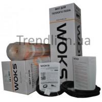 Электрический теплый пол WoksMat  мощн. 160 Вт/0,75 м2 (ширина 0,5м; длина 1,5м)